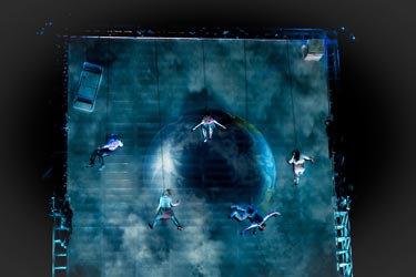 AS THE WORLD TIPPED | Wired Aerial Theatre (Foto: Sophie Laslett)